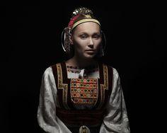 """Parta"" headgear from Torysky Slovakia Photo Grouping, Art Prints For Sale, Folk Costume, Ethnic Fashion, Women's Fashion, Traditional Dresses, Headpiece, Clothes For Women, Female"