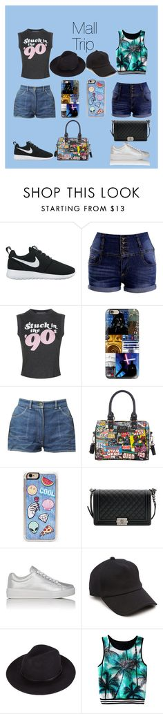 """""""Mall Trip"""" by underthesea29 ❤ liked on Polyvore featuring NIKE, Wildfox, Casetify, Loungefly, Zero Gravity, Chanel, Prada Sport and rag & bone"""