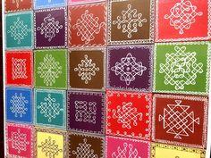 Rangoli Borders, Rangoli Patterns, Rangoli Border Designs, Kolam Rangoli, Flower Rangoli, Rangoli With Dots, Simple Rangoli, Free Hand Rangoli Design, Pooja Rooms