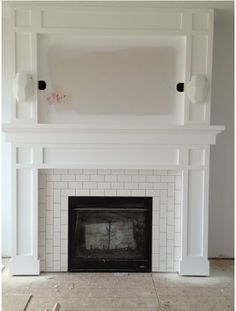 Fireplace Tile Pattern