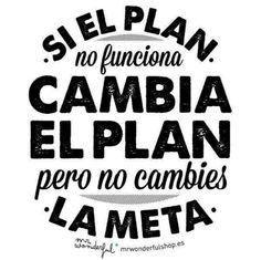 Siempre hay un plan B