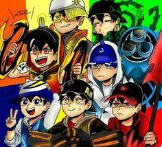 Anime Galaxy, Boboiboy Galaxy, Boboiboy Anime, Anime Art, Doraemon Wallpapers, Pokemon Comics, Short Comics, Cartoon Art, Love Art