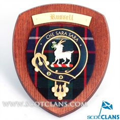 Russell Clan Crest W