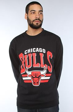 Mitchell & Ness The Chicago Bulls Sweatshirts in Black : Karmaloop.com - Global Concrete Culture