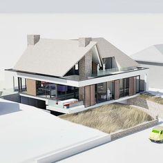 Elegant Kitchens, Smart Home, Home Fashion, Modern Architecture, House Plans, Villa, Exterior, House Design, Cabin