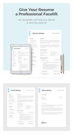 Single Page Curriculum Vitae In 5 Basic Colors Creative Resume