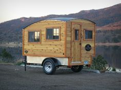 Living in a shoebox A great alternative to a teardrop The Terrapin trailer camper