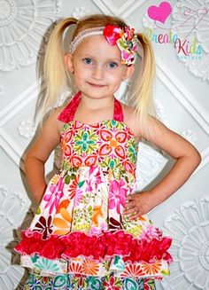 Anna's Sweetheart Halter Top and Dress - another great CKC pattern - share it!