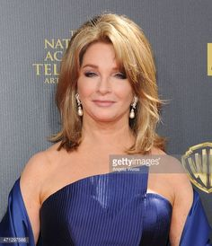 Actress Deidre Hall arrives at the 42nd Annual Daytime Emmy Awards at Warner Bros. Studios on April 26, 2015 in Burbank, California. She's 68 and beautiful.