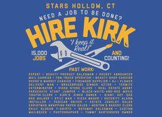 Hire Kirk T-Shirt |
