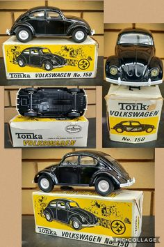 Tonka Trucks, Tonka Toys, Vintage Toys, Childhood Memories, Volkswagen, Tin, Models, The Originals, Beautiful