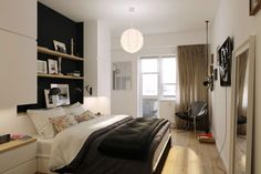 View bedroom white