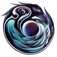 How the Raven stole the sun and the moon crow art. only 1 person… Crow Art, Raven Art, Bird Art, Native Art, Native American Art, Schrift Design, Raven Tattoo, Tattoo Bird, Trendy Tattoos