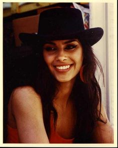 Denise Matthews aka Vanity looking like an ELLE model! Most natural I've seen her in photos!