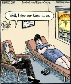 57 Hilarious Bizarro Comics Are Proof That Humor Is The Best Therapy Funny Cartoon Pictures, Cartoon Jokes, Funny Cartoons, Funny Comics, Satirical Cartoons, Social Work Humor, Doctor Jokes, Bizarro Comic, Psychology Jokes