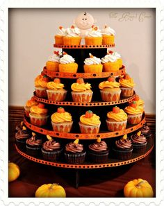 Cute cupcake tower!