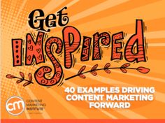Learn From the Best: 8 Inspiring Content Marketing Examples Marketing Goals, Content Marketing, Social Media Marketing, Digital Marketing, Ebook Cover, Email Campaign, Lets Do It, Marketing Institute, Fun Learning