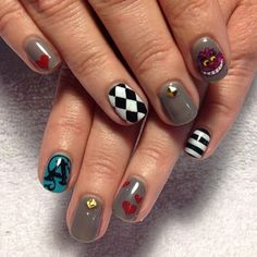 Alice in Wonderland nails | Yelp