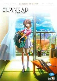 This sweet release from the romantic anime series CLANNAD: AFTER STORY includes all 22 episodes of the show, following up the story of Tomoya and Nagisa, dropping in just a few months after Tomoya dec
