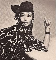 China Machado by Richard Avedon.