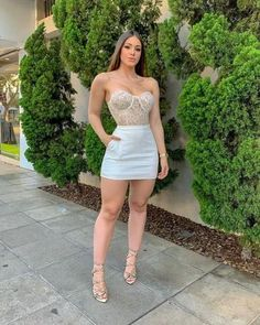 Latest Outfits, Sexy Outfits, Sexy Dresses, Short Dresses, Girl Outfits, Fashion Dresses, Cute Outfits, Curvy Women Fashion, Girl Fashion