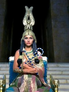A still of Leonor Varela as Cleopatra. The real Cleopatra was also part Syrian, through her ancestress, Cleopatra I Syra , who was referred to in. Egyptian Makeup, Egyptian Fashion, Egyptian Beauty, Egyptian Costume, Egyptian Queen, Egyptian Goddess, Egyptian Jewelry, Egyptian Art, Queen Cleopatra