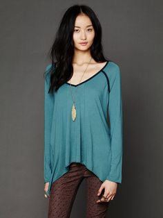 Intimately Drapey Jagged Hem at Free People Clothing Boutique