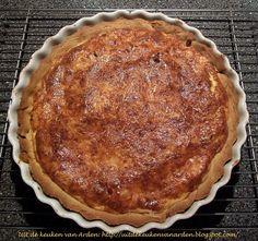 Uit de keuken van Levine: Recept Quiche met spek en kaas Quiche Lorraine, Quiches, Pizza, Desserts, Food, Tailgate Desserts, Deserts, Essen, Postres