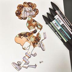 Art by Sibylline Meynet ✨ Es una ilustradora de París, Francia. Sibylline • Illustration & comics ✨profile picture by @m_atelier #Doodles #Sketchs #watercolor @Sibylline_M patreon.com/jellyfishcomics