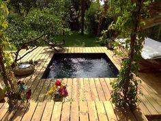 Plage de piscine : un kit complet pour une ambiance boisée