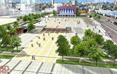 plaza-espacio publico-texturas-urbanismo