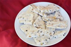 Coconut Butter Candy Bark