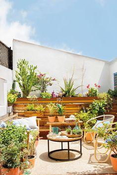 Глоток свежести: интерьер с зелеными акцентами в Барселоне | Пуфик - блог о дизайне интерьера