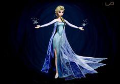 Elsa de Frozen. La mitica y exitosa pelicula de Disney.    #disney #Elsa #Frozen #speedart #ilustración #dibujo #arte #art #picture #ilustration #art #pintura #draw #drawing