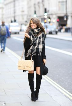 Black & Beige with Charming Charlie: Southern Curls & Pearls waysify Zara Fashion, Cute Fashion, Fashion Outfits, Womens Fashion, Fashion Trends, Dress Fashion, Fashion Inspiration, Fall Winter Outfits, Autumn Winter Fashion