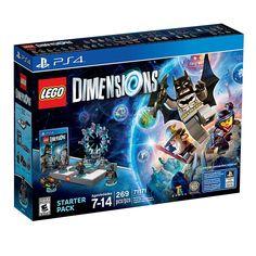 WARNER HOME VIDEO GAMES Lego Dimensions Starter Pack - PS4