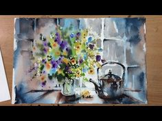 Loose Watercolours 'Shadows of the Day' with Andrew Geeson - YouTube