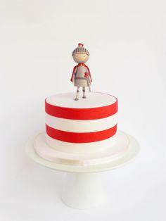 Peaceofcake ♥ Sweet Design: Bolo Cavaleiro • Knights Cake