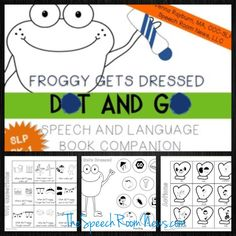 Froggy gets dressed activity preschool pinterest froggy gets dressed preschool book companions speech room news pronofoot35fo Images