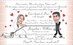 Convites De Casamento Criativos