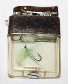 Fly Fishing #Vintage #Lighter
