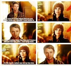 Hart of Dixie aww Wade looks happy when she said he's not her true love