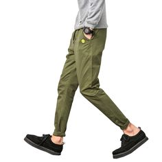 2016 new fashion mens straight casual pants slim fitness trousers long pants 6 colors 28-36 CYG164