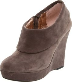 "$61.01-$129.00 BCBGeneration Women's Madena Ankle Boot,Clove/Kid Suede,7 M US -  • Just the boot you need for your cool weather wardrobe  • Suede leather upper • Easy pull-on style • Lightly padded footbed • 3"" wedge heel      http://www.amazon.com/dp/B0050U23WI/?tag=icypnt-20"