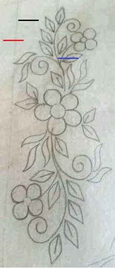 Pattern for apron embroidery Embroidery Flowers Pattern, Hand Embroidery Stitches, Embroidery Techniques, Ribbon Embroidery, Floral Embroidery, Flower Patterns, Cross Stitch Embroidery, Machine Embroidery, Beading Patterns
