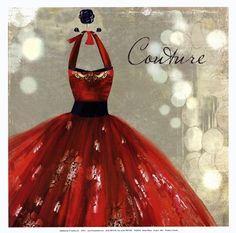Couture - mini by Aimee Wilson art print