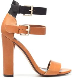 Black And Brown Heels | Tsaa Heel