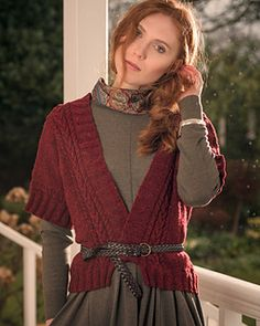 """""""Threlkeld,"""" by Sarah Hatton, knit with Fibre Co. Arranmore Light."""