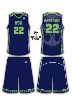 87583e6c9 Volt Women s Sulbimated Basketball Uniform. This is completely customizable