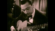 Django Reinhardt and Stéphane Grappelli - J'Attendrai - Newsreel 'Jazz Hot'